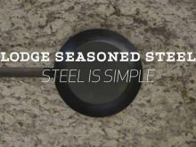 How to Clean Lodge Seasoned Steel